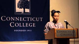 Eastern Pequot Tribal Nation Princess Natasha Gambrell Poem - Connecticut College