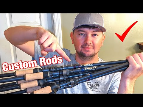 I BUILT THESE RODS!!! How To Build Perfect Bass Rods!!!