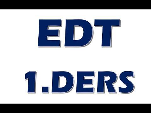 EDT 1.Ders - GİRİŞ Fiziksel ve Elektiriksel Sistemler - Elektrik Devre Temelleri