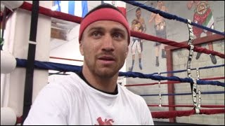 VASYL LOMACHENKO TALKS FLOYD MAYWEATHER v CONOR McGREGOR & WANTS MANNY PACQUIAO FIGHT