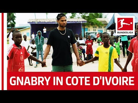 Serge Gnabry Discovers His Roots in Cote d'Ivoire