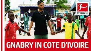 Serge Gnabry Discovers His Roots in Cote d