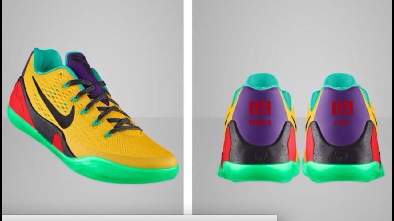 Kobe Shoes Nike Id