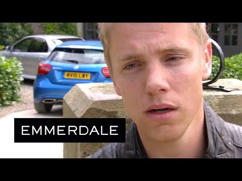 Emmerdale - Robert's Heart Breaks When He Sees Who Aaron Is With
