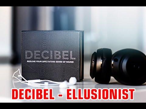 DECIBEL BY ADAM WILBER & ELLUSIONIST MAGIC TRICK