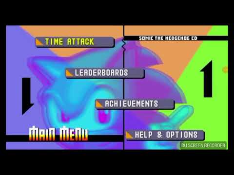 How To Get Sonic CD Extras For Sonic CD  Android And IOS READ DESC