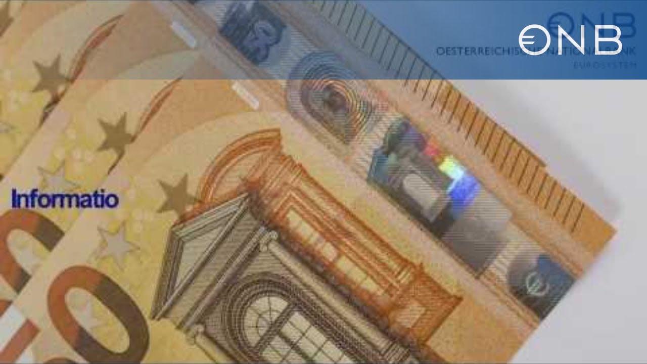 Neue 50 Euro Banknote