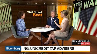 ING, UniCredit Said to Tap Advisers on Commerzbank