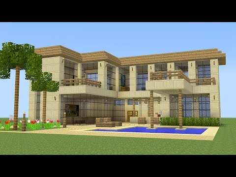 Minecraft - How to build a vacation house 3