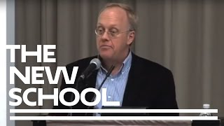 Chris Hedges' Empire of Illusion | The New School