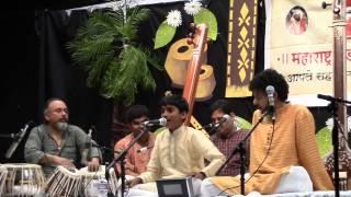 Aditya MMBA April 25 2015 along with his very dear Guruji Shri. Mahesh Kale