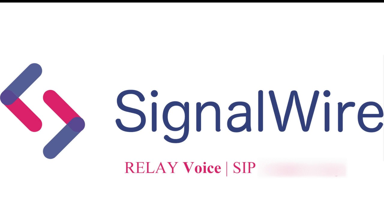 Relay voice | Sip Connectivity using SignalWire