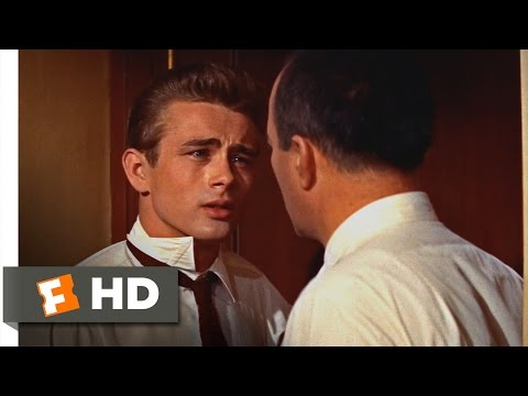Rebel Without a Cause (1955) - I Don't Ever Wanna Be Like Him Scene (3/10) | Movieclips