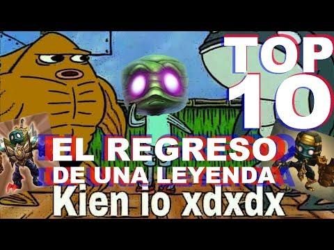 TOP 10 CAMPEONES MAS ROTOS DE LOL S8  Enero | Halo y Ness Lol