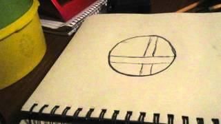 How to draw the Super Smash Bros logo