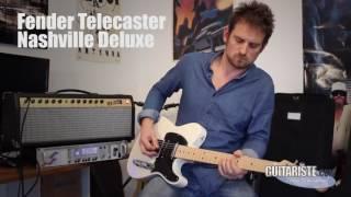Fender Deluxe Telecaster Nashville 2016