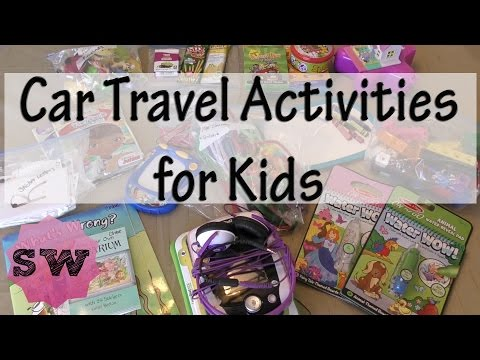 Car Travel Activities for Kids