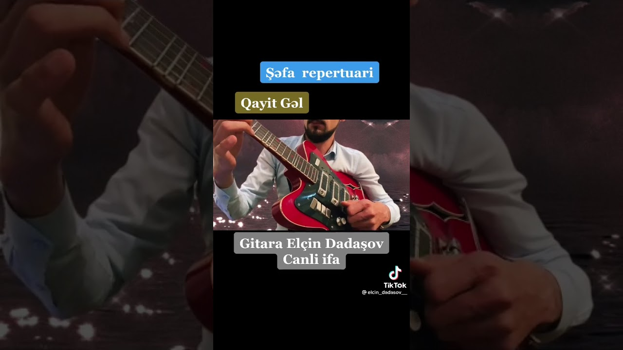 Qoşa durnalar gitara Elçin Dadaşov. Rüstəm Quliyev xatitəsinə. Musiqi Aqil Cəbiyev