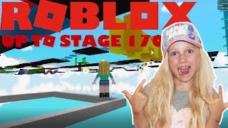 Roblox Mega Fun Obby. Up to stage 170