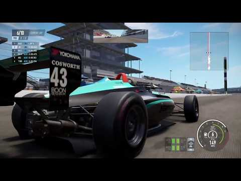 3-Wide Finish!!! Closest Finish Ever!!! Indy Lights Freedom 100 on Project Cars 2