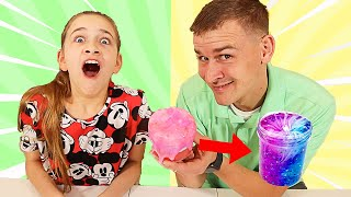 WHO CAN RECREATE THIS SLIME THE BEST CHALLENGE! | JKrew