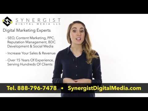Digital Marketing Firm New Jersey - Synergist Digital Media - 888-796-7478