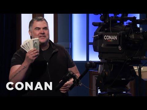 Tony The Cameraman's Suspiciously Specific Super Bowl Predictions - CONAN on TBS