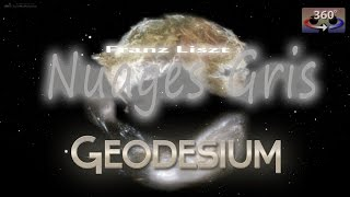 """Gambar cover Geodesium """"Nuages Gris"""" (Franz Liszt) - fulldome show 360°"""