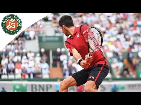 Novak Djokovic v Steve Darcis Highlights - Men's Round 2 2016 - Roland Garros
