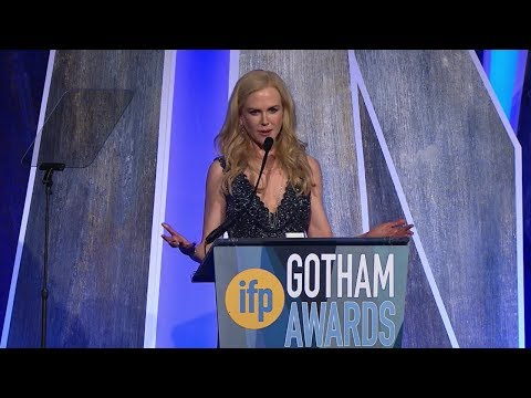Nicole Kidman Tribute @ Gotham Awards 2017