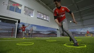 Behind the scenes at the new Arsenal Academy