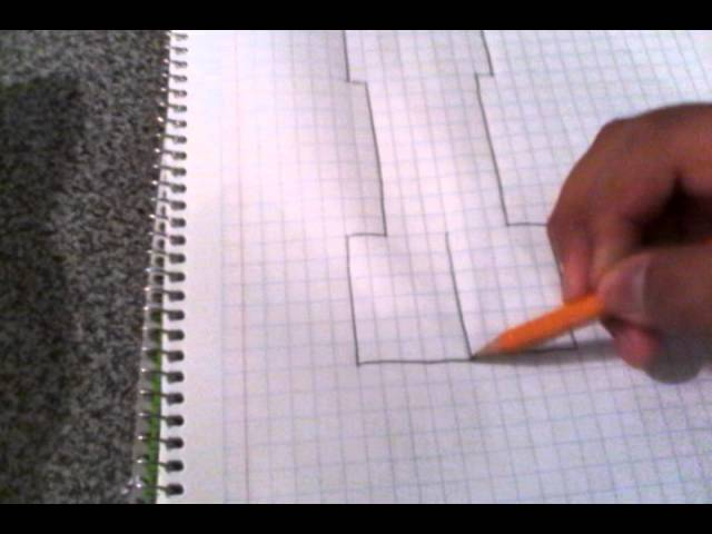 Como dibujar a un creeper