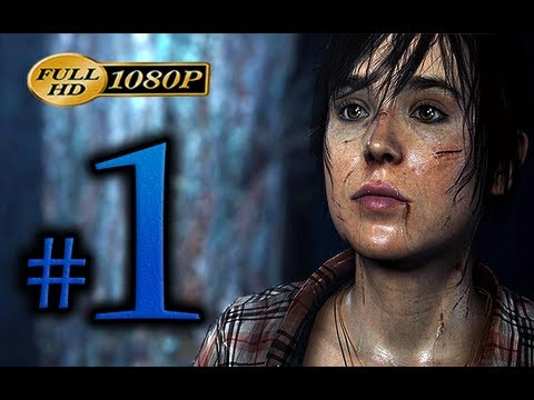 """Beyond Two Souls - Walkthrough Part 1 [1080p HD] - No Commentary - """"Hunted"""" Alternate Choices"""