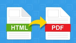 HTML to PDF using JavaScript/jQuery