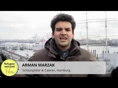 از پول تو جیبی تا اولین حقوق - Hamburg - Refugee Welcome Films- Farsi - فارسی