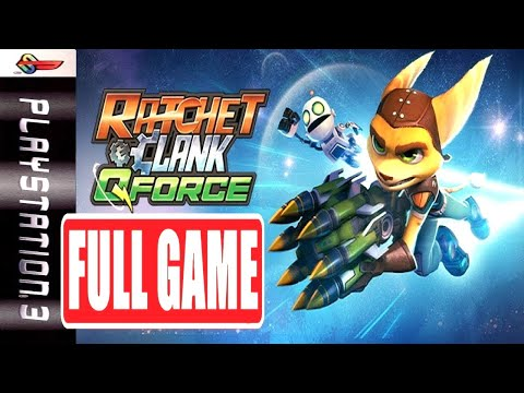 RATCHET & CLANK Q FORCE | FULL GAME [PS3] NoCommentary Walkthrough Gameplay