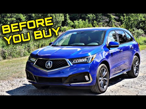 2020 Acura MDX A-Spec - Fun To Drive But Is It Worth It?