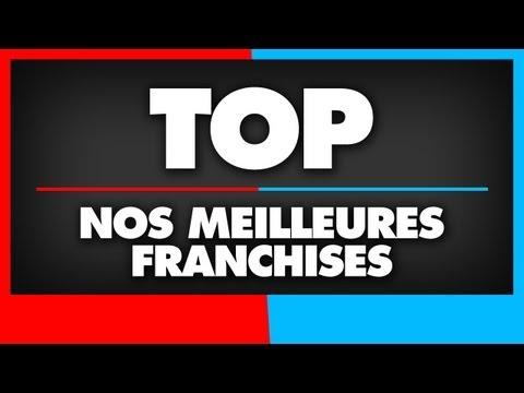 Top 10 - Nos meilleures franchises