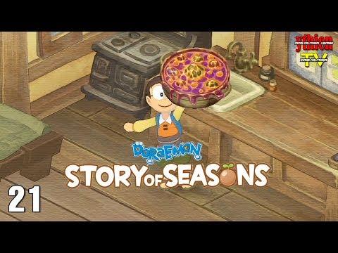 Doraemon Story of Seasons 21  Món GÌ Đây