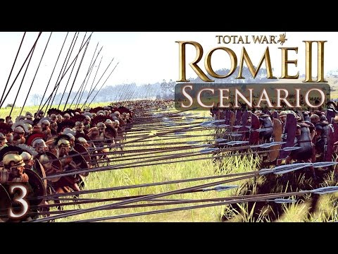 Total War Scenario Battle Video 3 Pyrrhus at Heraclea