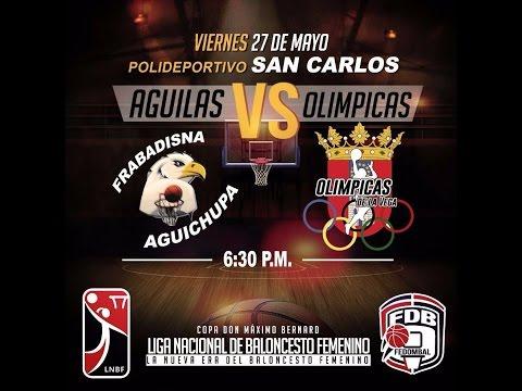 LNBF 2016: Aguilas vs Olimpicas de la Vega - BALONCESTO FEMENINO