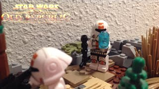 Lego Star Wars - The Old Republic Batlle on Alderaan - MOC
