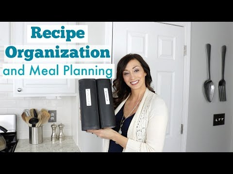 Recipe Organization and Meal Planning