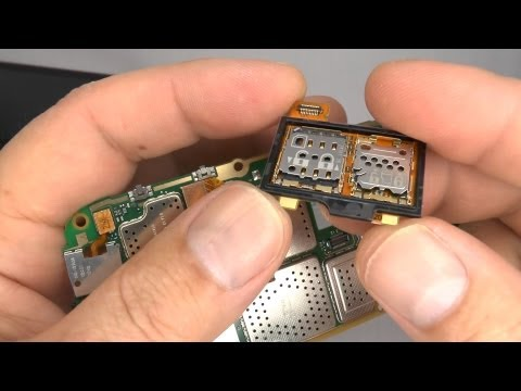 Nokia 808 PureView Disassembly & Assembly