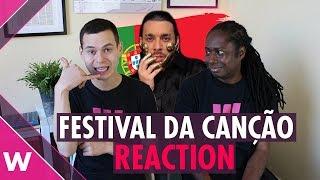 Festival da Canção 2019 Final - Reaction to all songs | Portugal at Eurovision
