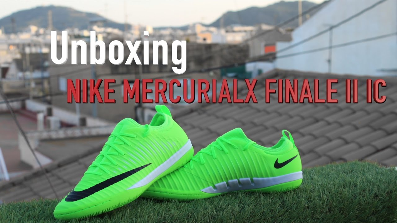 low priced 6354b d77d8 NIKE 2017/ UNBOXING /NIKE MERCURIALX FINALE II IC Futbol Sala e indoor /  2017 👍