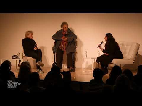 Howardena Pindell and Dorothea Rockburne in Conversation