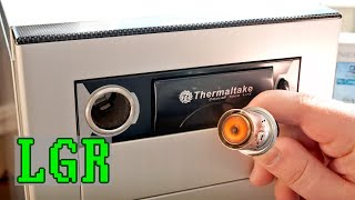 LGR Oddware - Thermaltake PC Drive Bay Lighter/Cup Holder