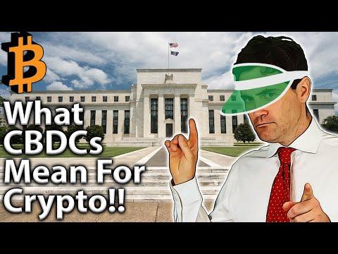 CBDCs: Good Or Bad For Crypto?? ????
