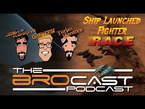 The Brocast (Dec. 4th) Ship Launched Fighter Race!
